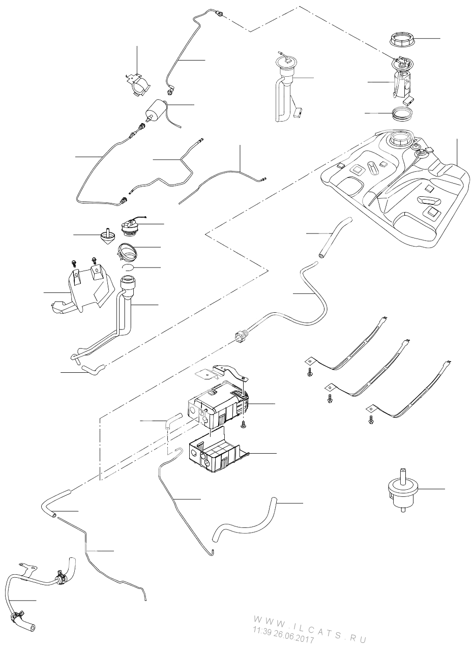 Тормозная схема чери тиго